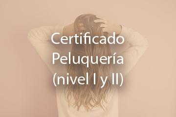 Certificado Peluquería